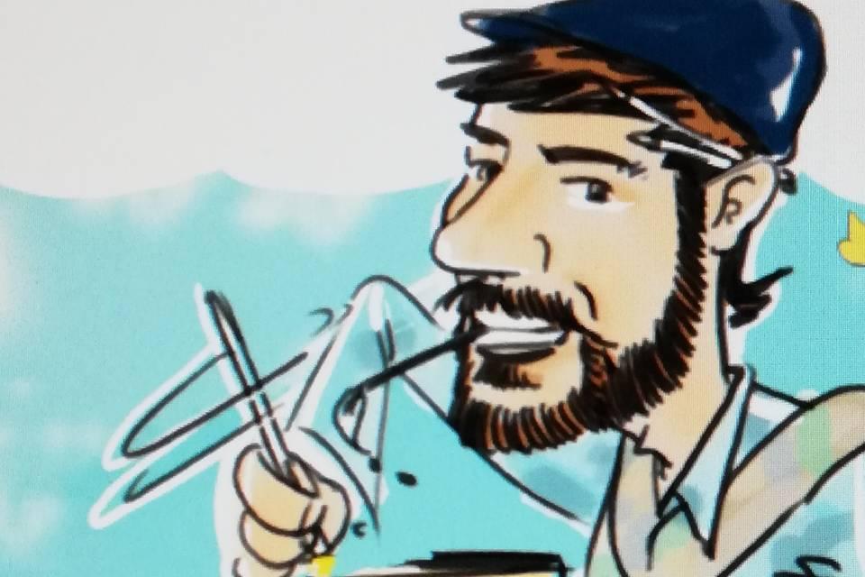 Marco Fiorenza  Caricaturista Ritrattista
