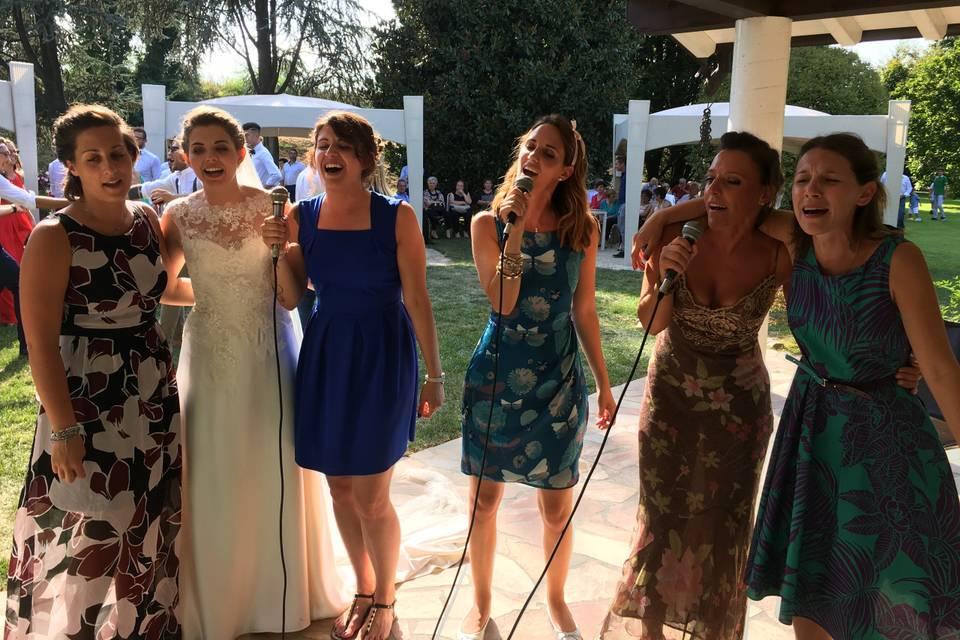 Canta la sposa!!