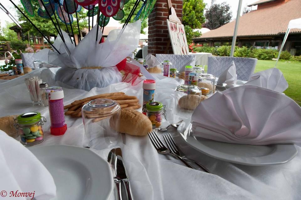 I tavoli per i più piccoli