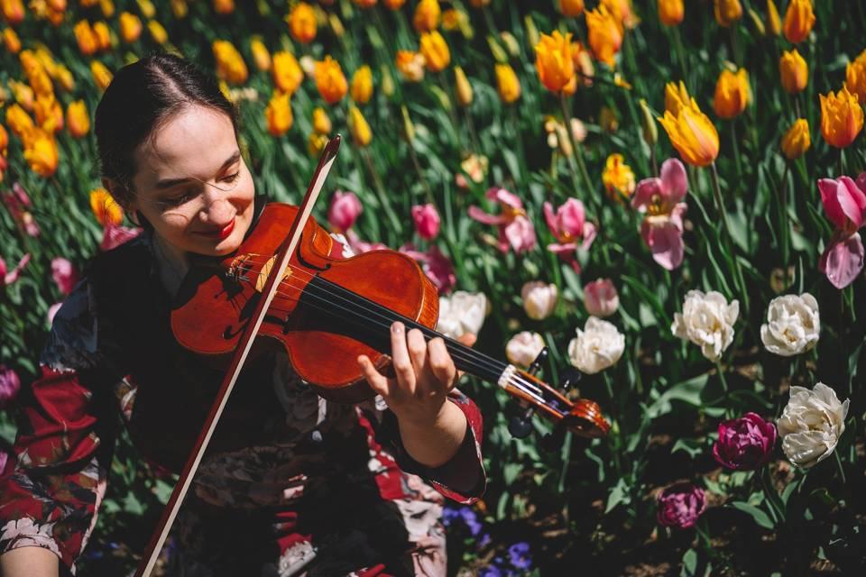 Alessia e il suo violino