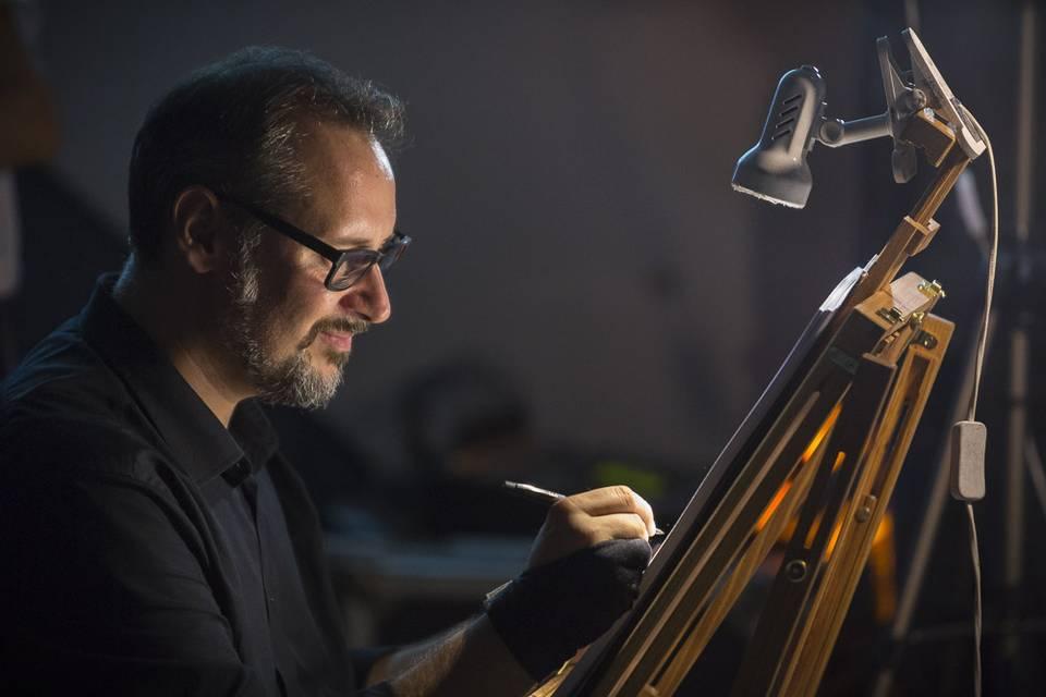 Caricaturista per eventi - Federico Cecchin