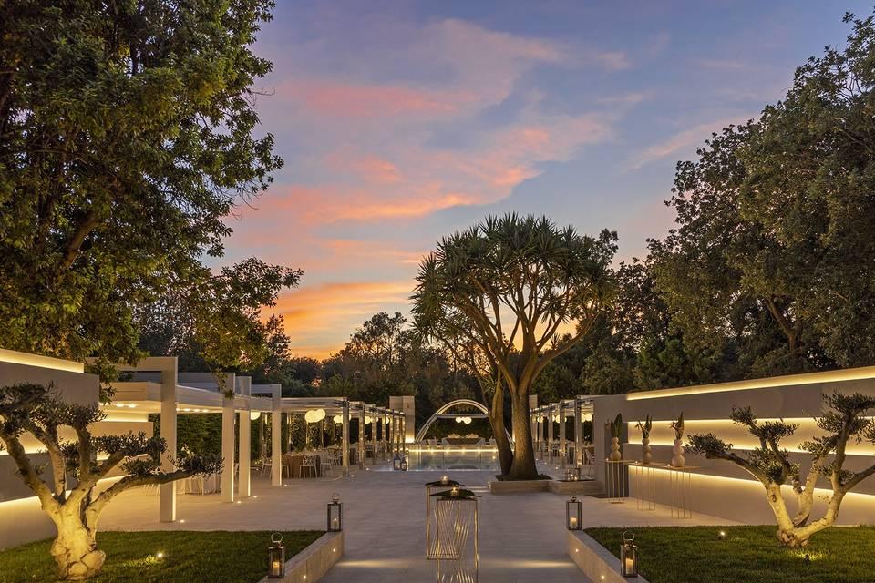 Villa Eubea eventi esclusivi