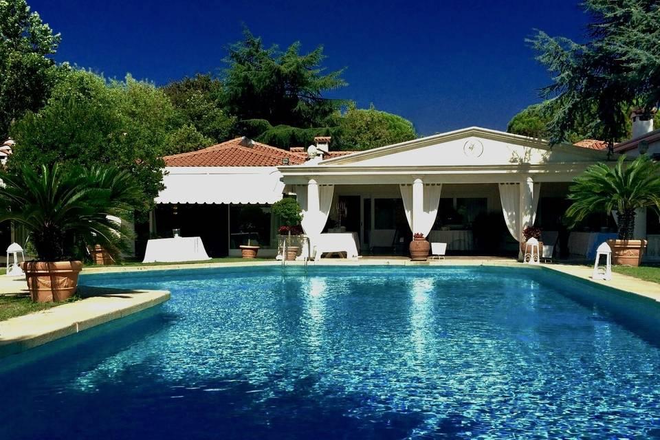 Villa Tevere di Liviana e Giorgio