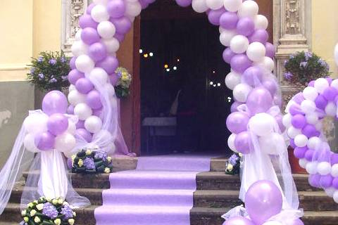 Arco da cerimonia