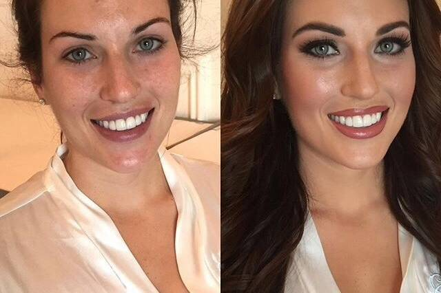 Look completo - prima e dopo
