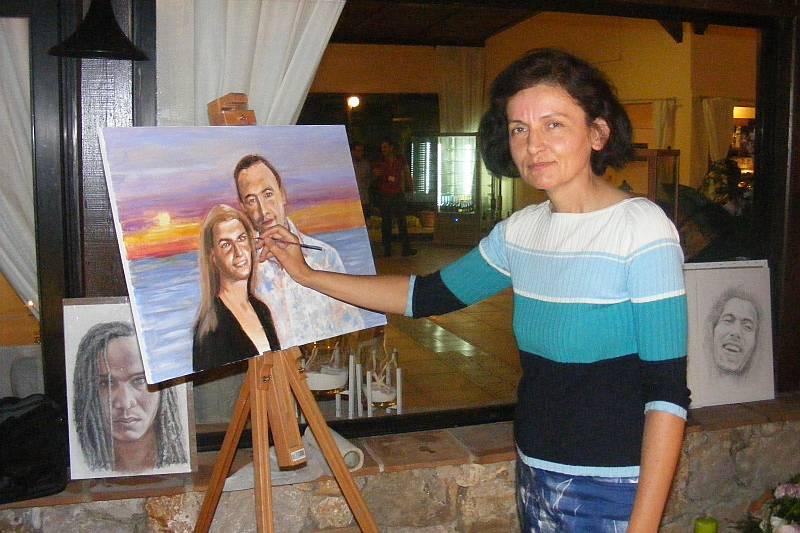 Demo pittura wedding planner