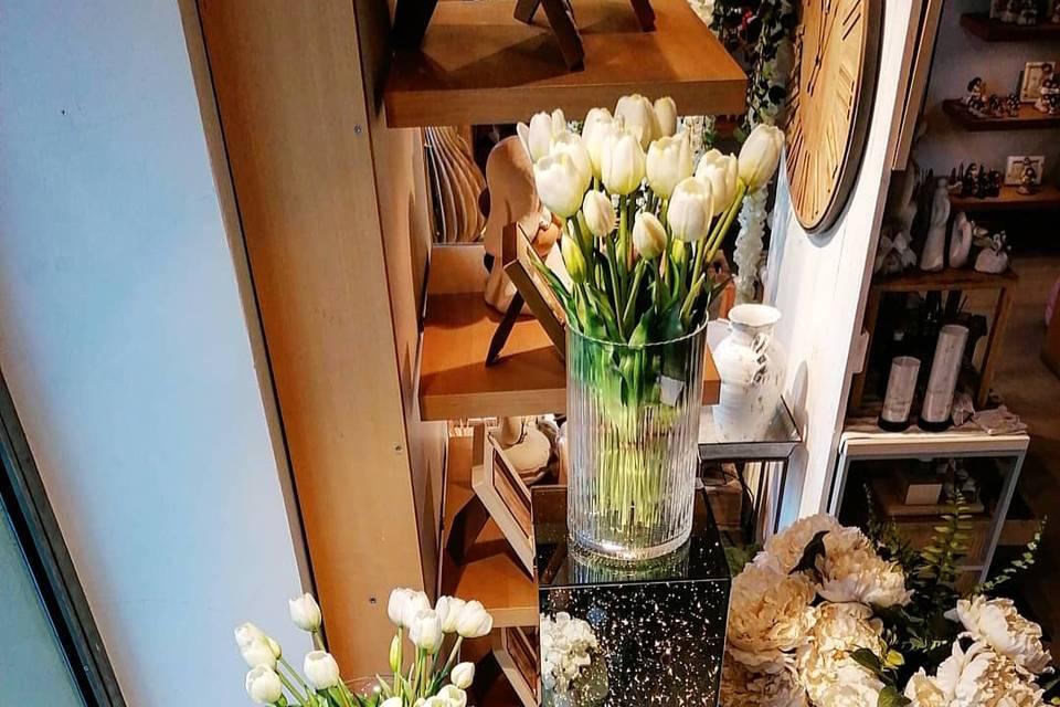 Led e tulipani