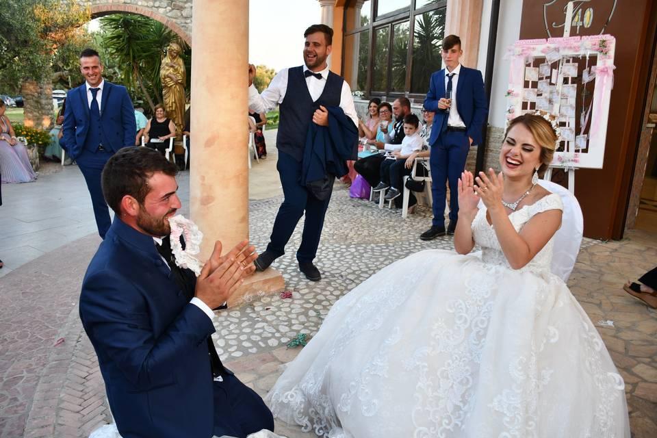 Lo sposo e la giarrettiera
