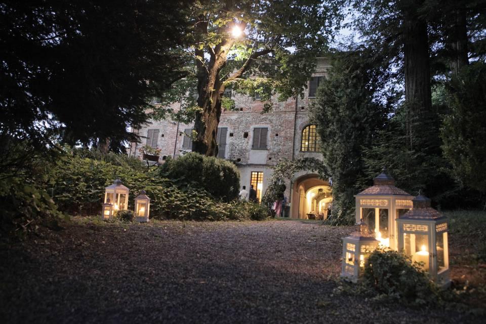 Villa Il Chiaramello viale