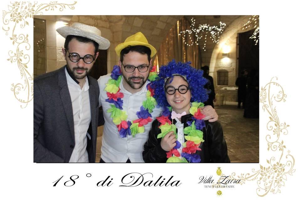 18esimo di Dalila