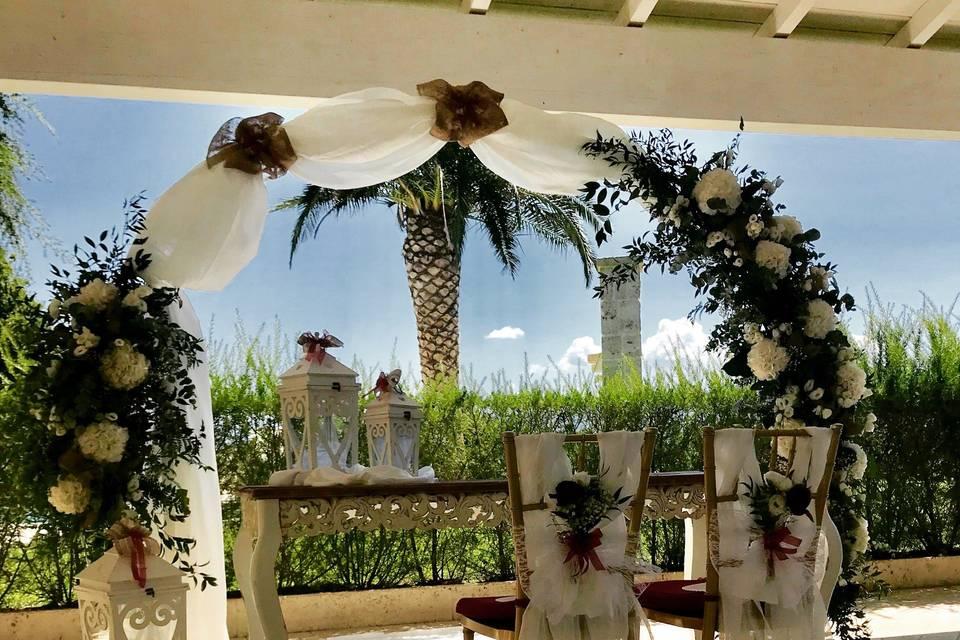 Wedding in location