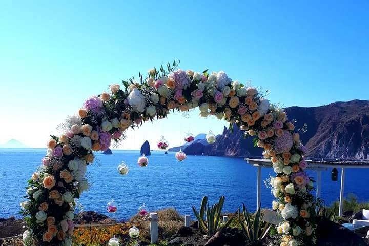 Arco fiori