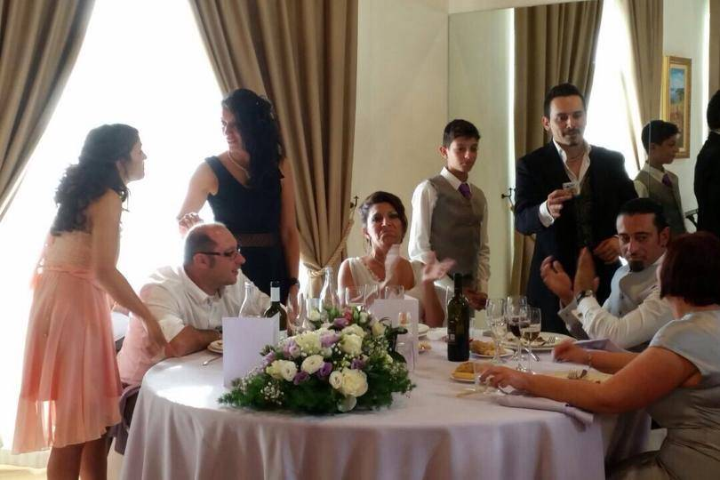 Matrimonio: magia ai tavoli