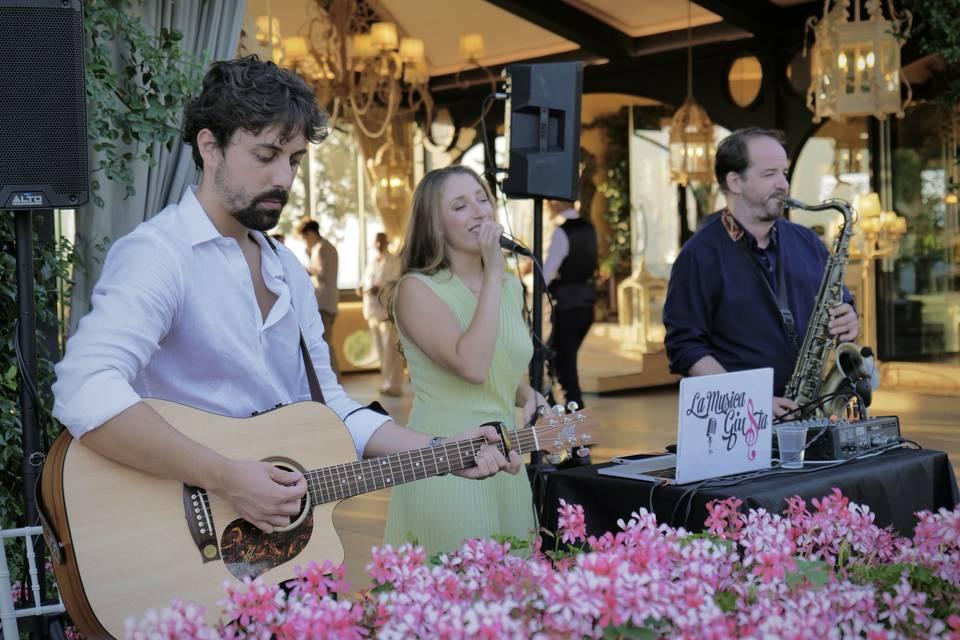 Trio at Fattoria di Paterno