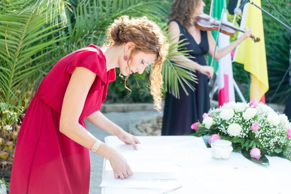Ilenia Poidomani Celebrante