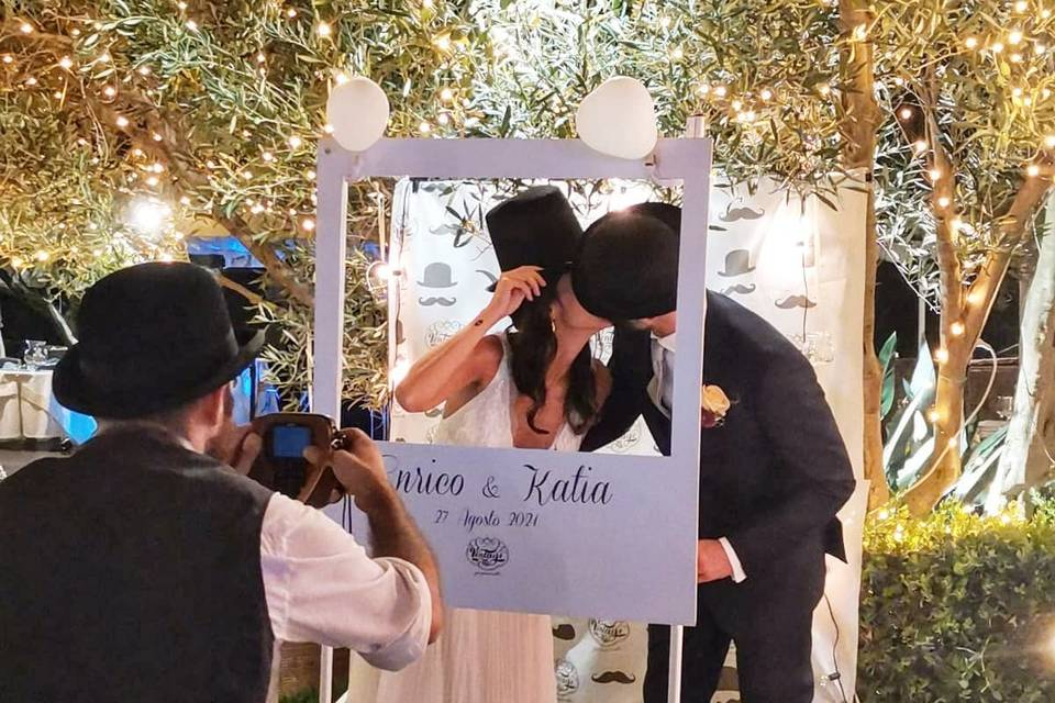 Vintage Style - Polaroid for Wedding