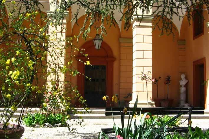 Loggiato di Villa Casalini
