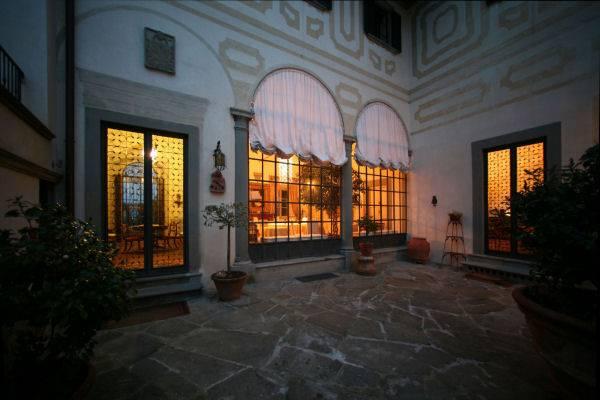 Facciata Villa Le Piazzole