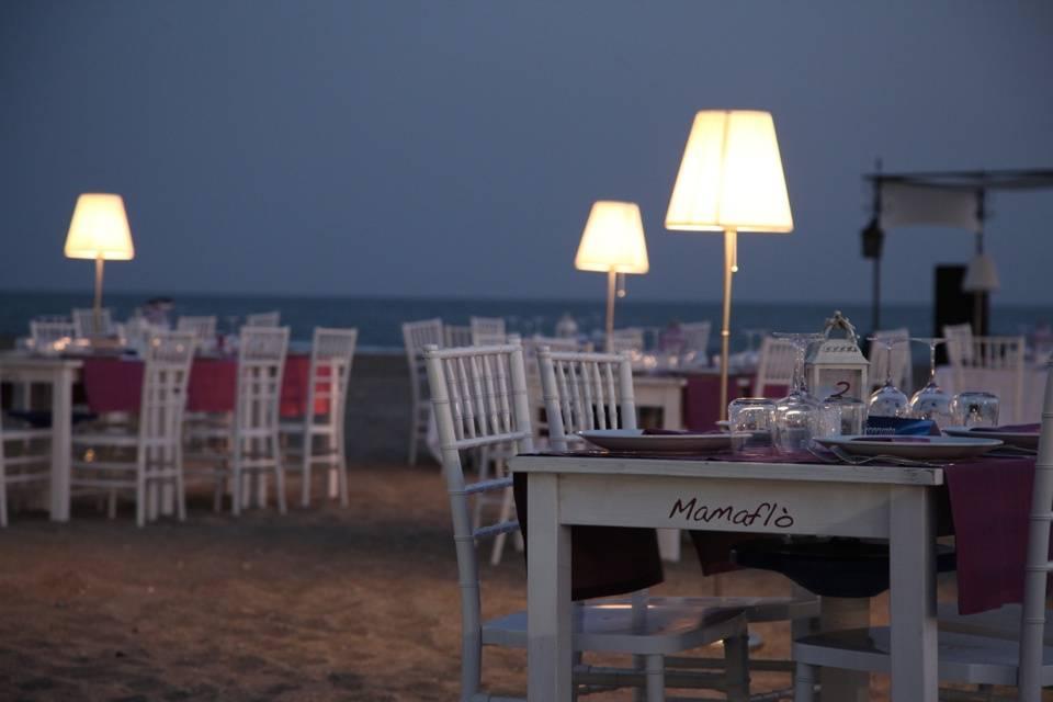Mamaflò - la spiaggia