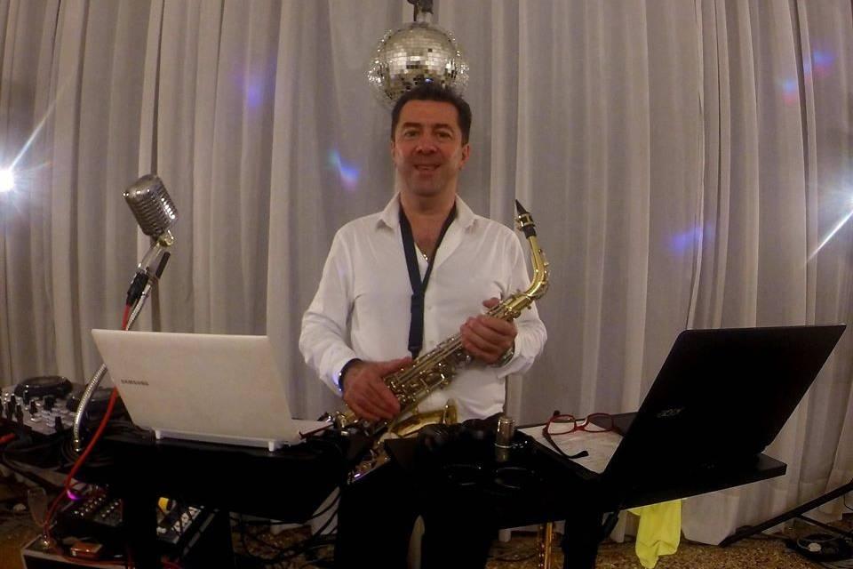 Giuseppe Norti Saxophonist - D.j.