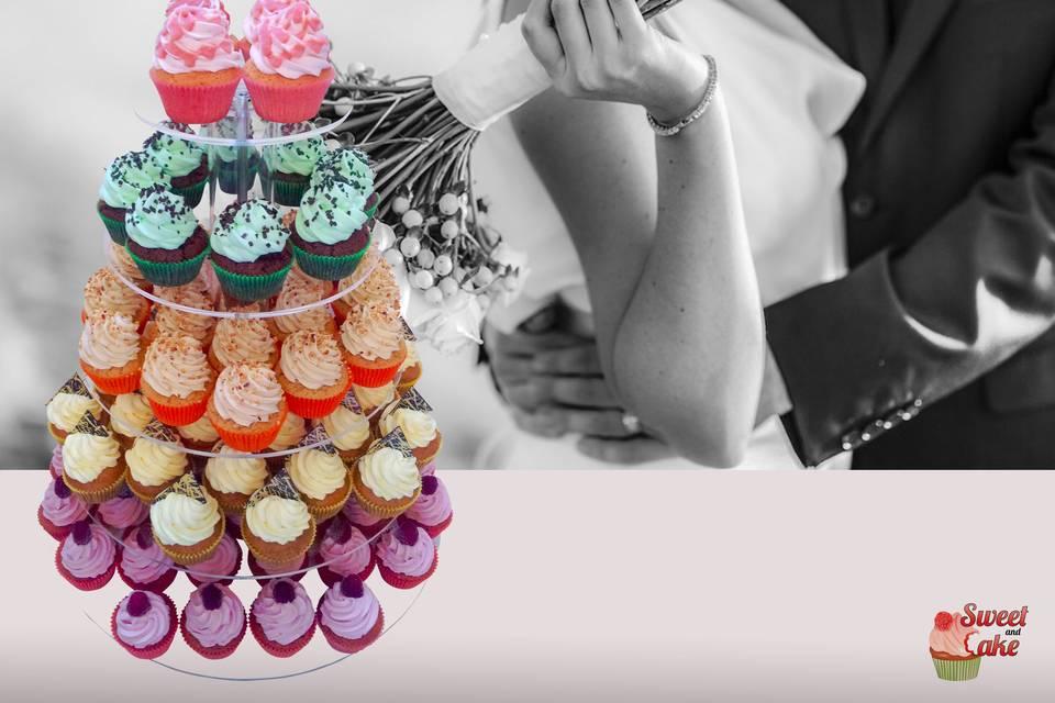 Alzata di cupcake