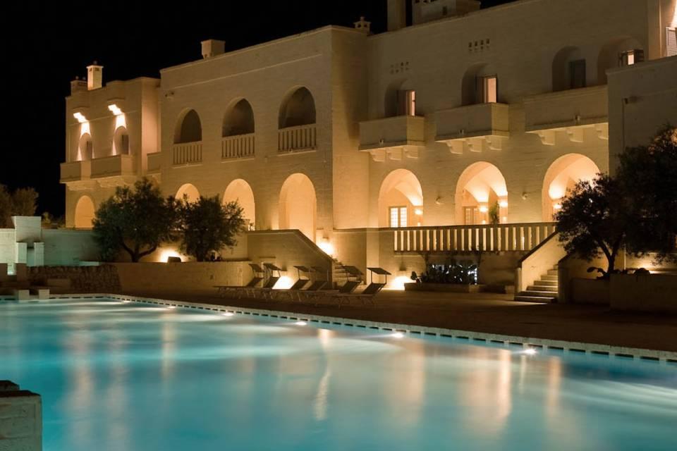 Borgo Egnazia e piscina