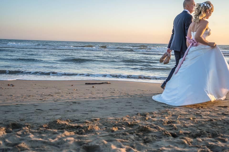 Matrimonio in riva al mare