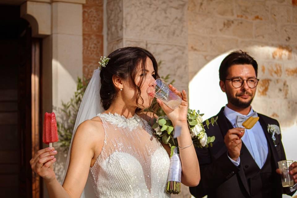 Sposi dona a dario