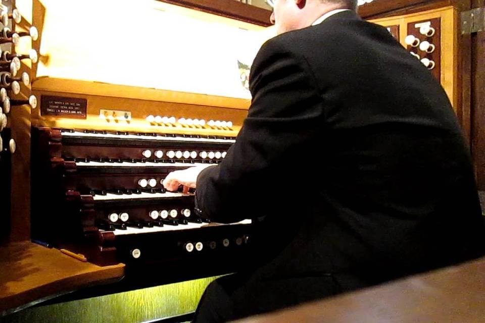 Ricardo, pianista e organista