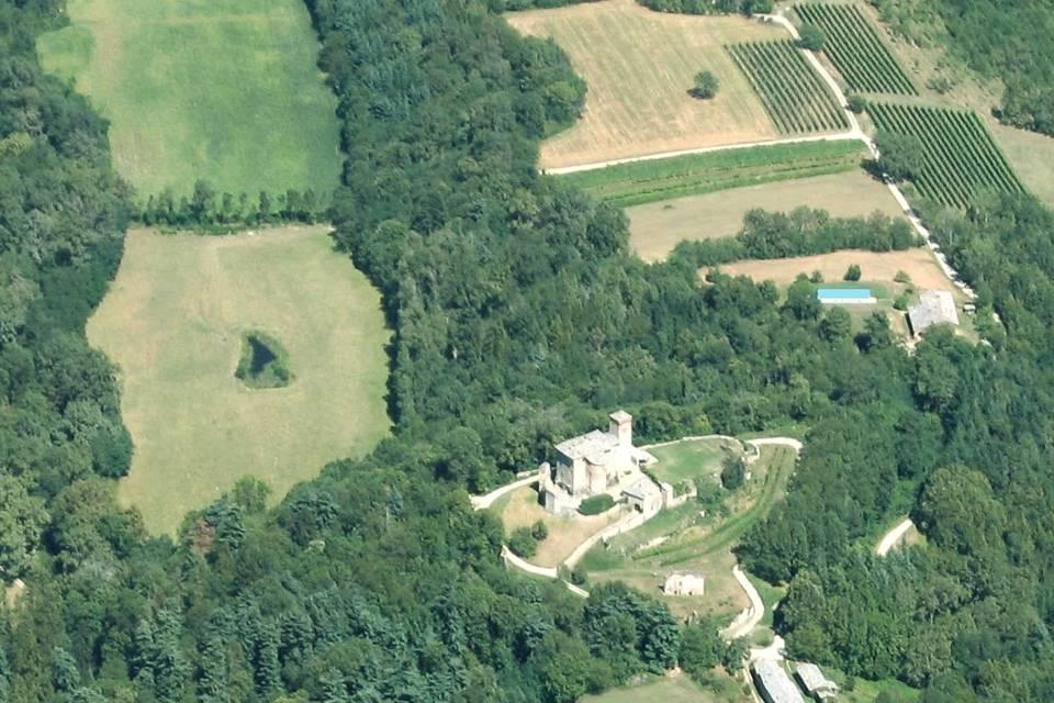 Vista complesso Castello