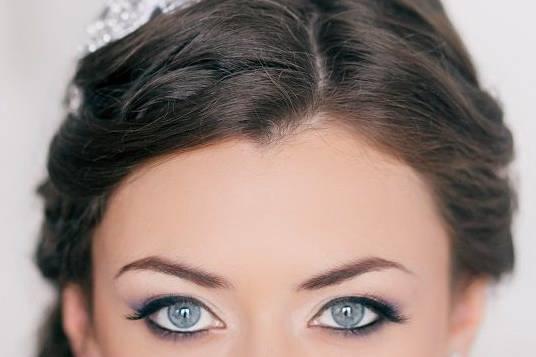 Fresh bridal make up