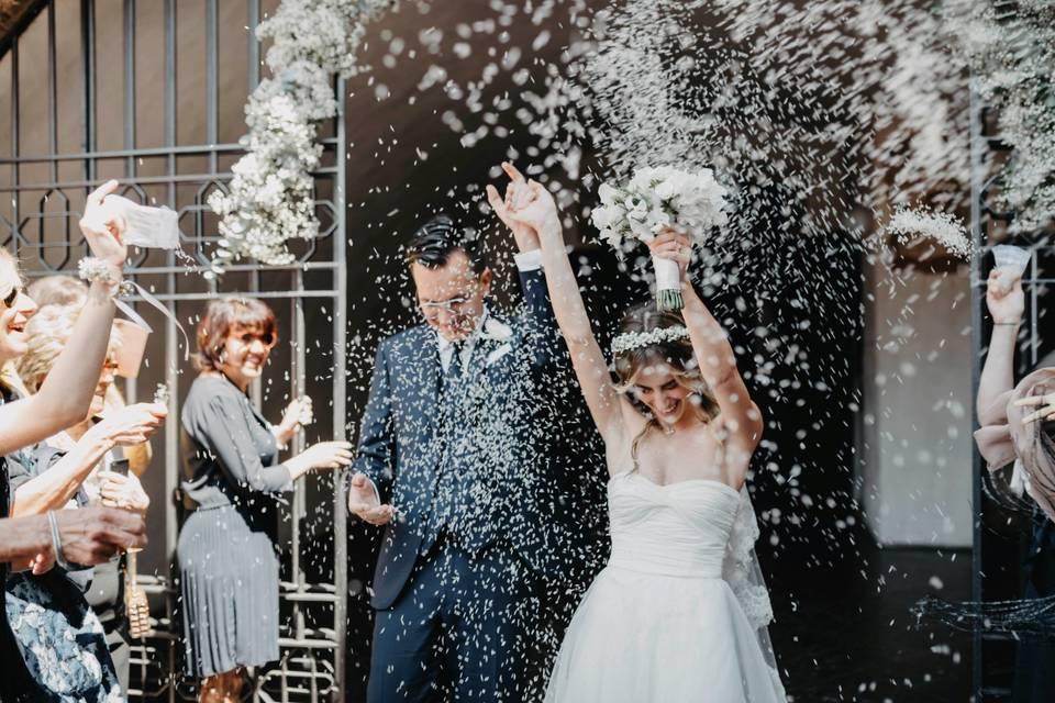 Matrimonio in città alta
