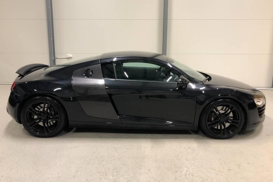 Audi R8 Fiancata dx