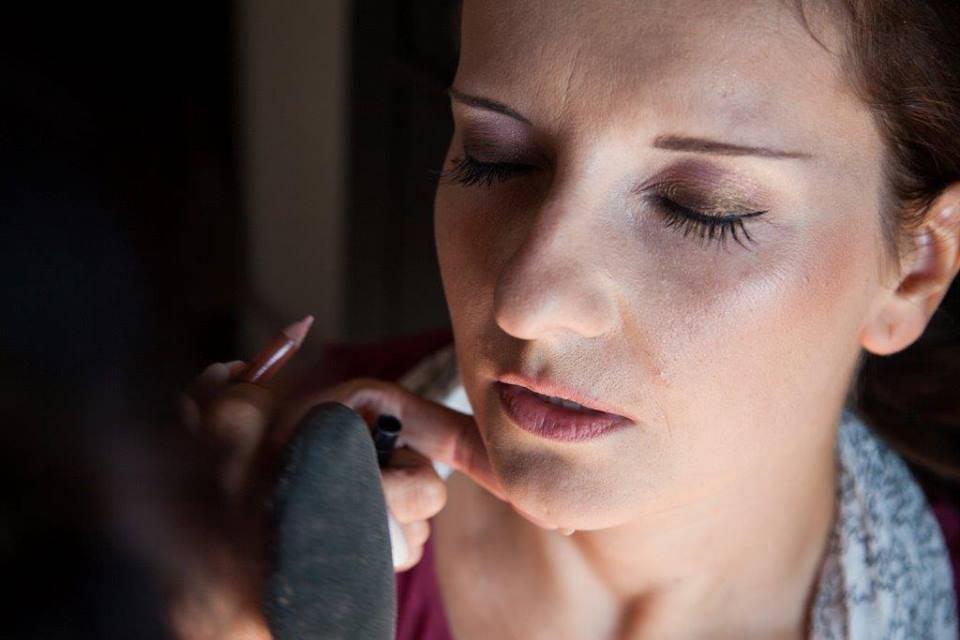 Ambra Chiapparini Make Up Artist