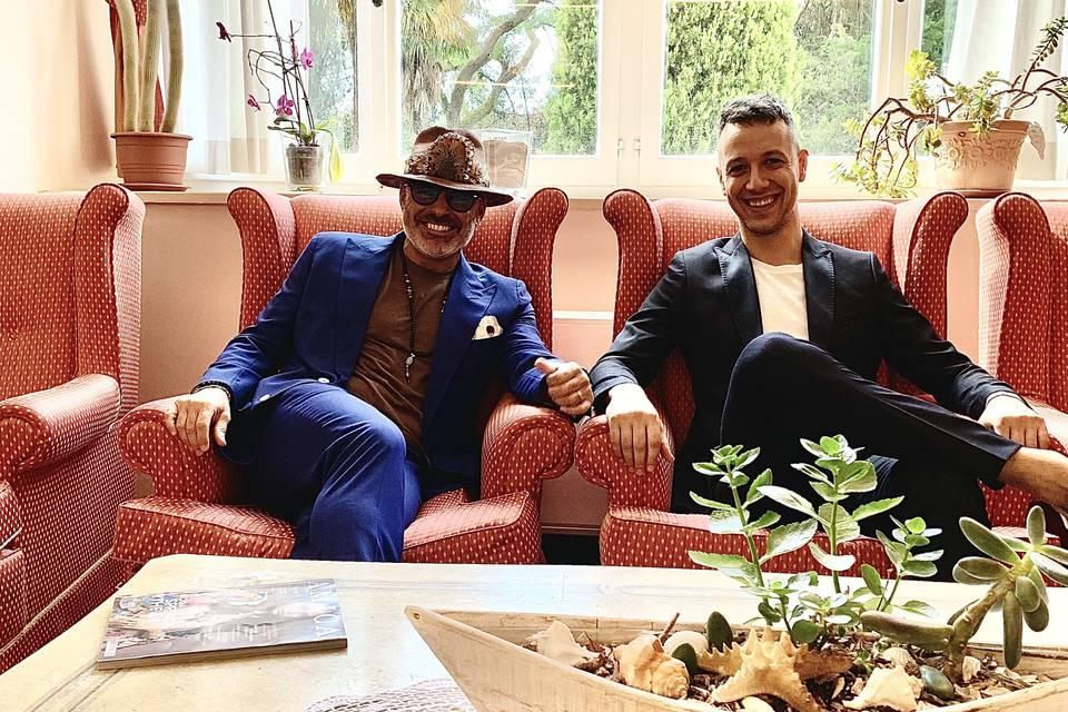 DJ Marco Rugini & LeLe enjoyment and coordinator