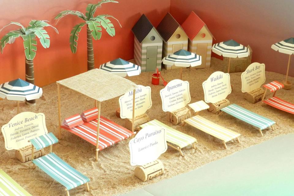 3D Table Plan - Tableaux de mariage 3d