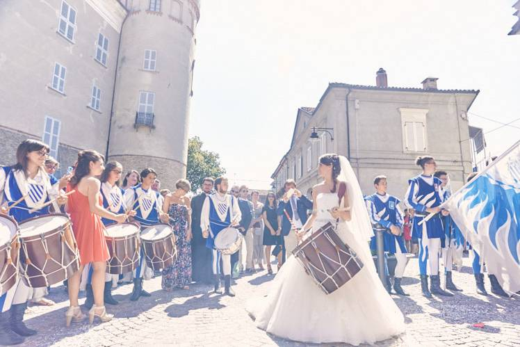 Sposa tamburina