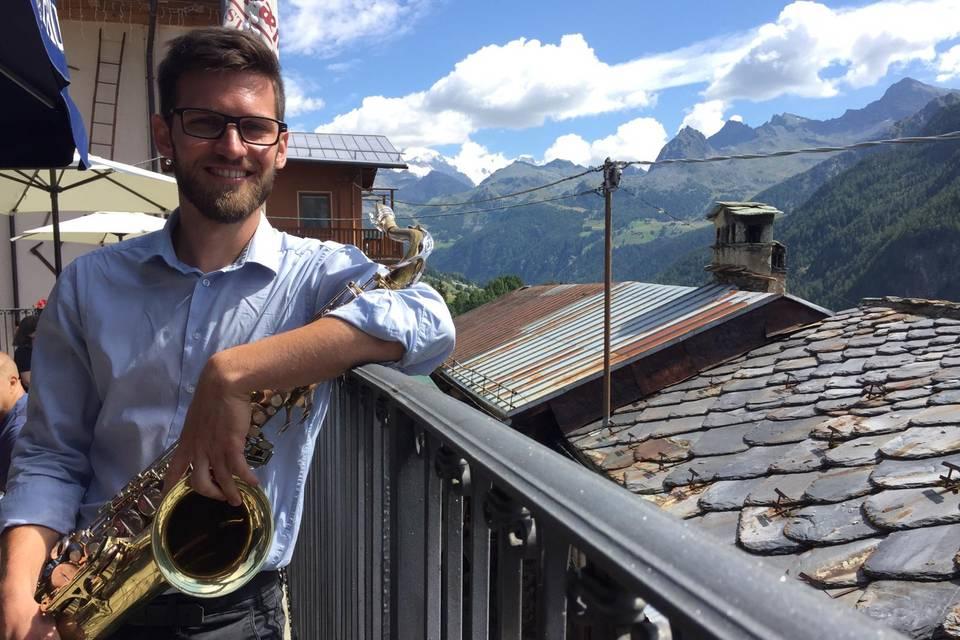 Andrea Riva Saxofonista