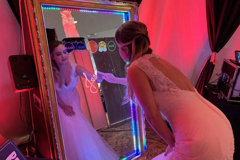 Selfie sposa