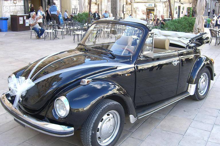 Maggiolone Cabrio nero del '74