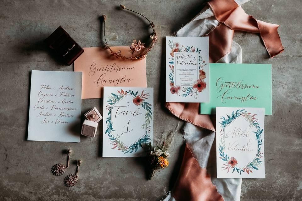 Chiara Ezechia - Graphic Design e Calligrafia