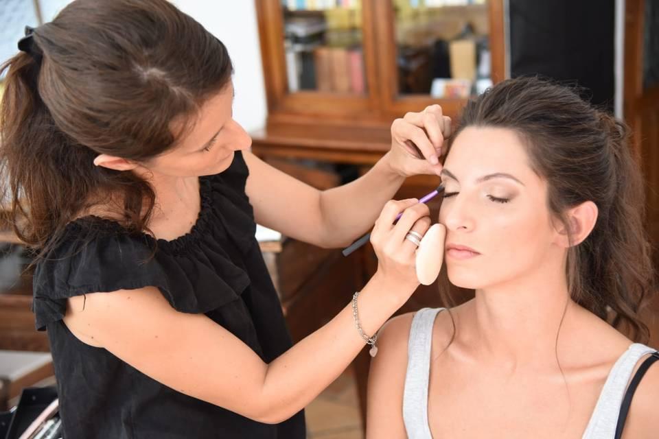 Chiara Boscarino Make-Up Artist
