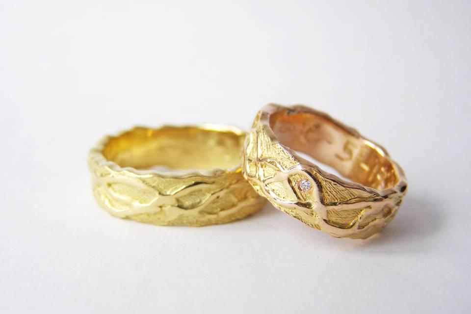 MIOeTUO - Unique Wedding Rings