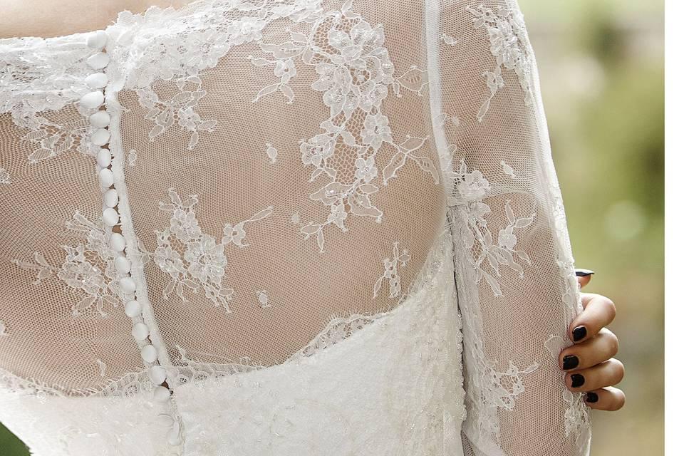 Gemma Surgo wedding day