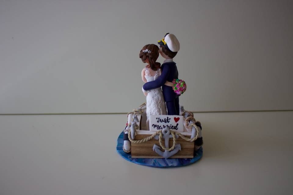 Cake toppers by B
