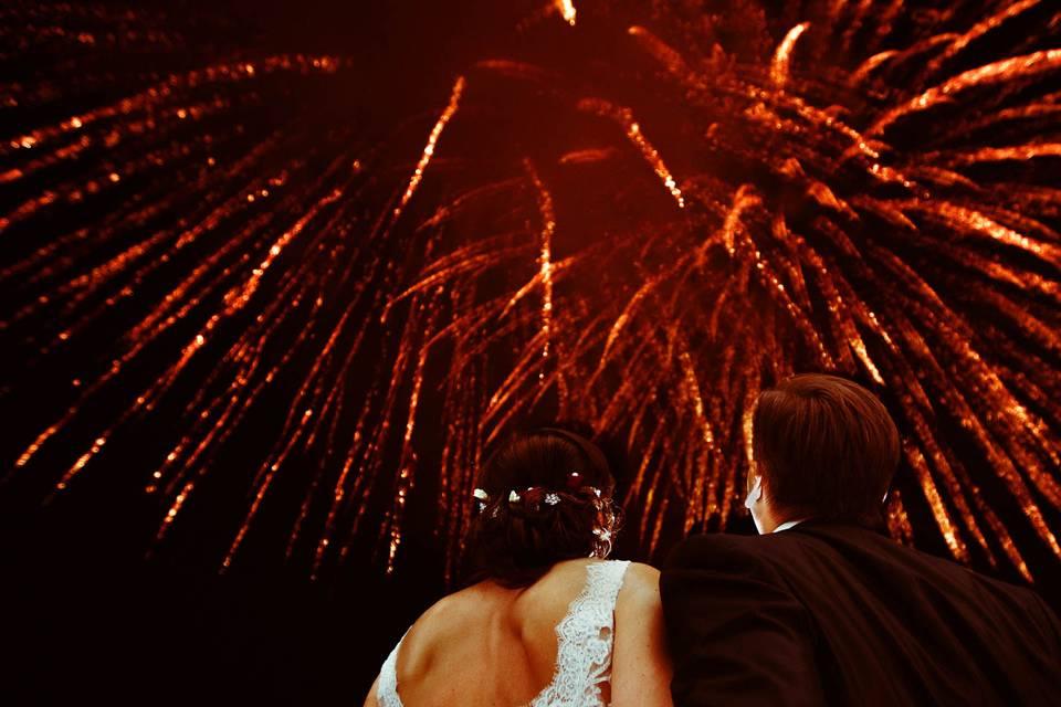 Speciale wedding fireworks